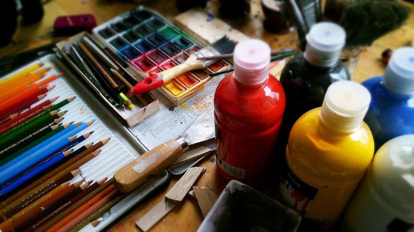 arredare casa colori acrilici maimeri dipinti